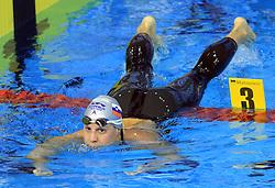Anja Carman, Women`s 200m Backstroke, at 4th day of Heats of LEN European Short Course Swimming Championships Rijeka 2008, on December 14, 2008,  in Kantrida pool, Rijeka, Croatia. (Photo by Vid Ponikvar / Sportida)