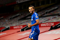Football - 2020 / 2021 Premier League - Manchester United vs Everton - Old Trafford<br /> <br /> Dominic Calvert-Lewin of Everton celebrates scoring his sides equalising goal to make the score 3-3<br /> <br /> COLORSPORT/PAUL GREENWOOD