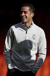 January 27, 2018 - Valencia, Valencia, Spain - Lucas Vazquez of Real Madrid CF smiles prior to the La Liga game between Valencia CF and Real Madrid CF at Mestalla on January 27, 2018 in Valencia, Spain  (Credit Image: © David Aliaga/NurPhoto via ZUMA Press)
