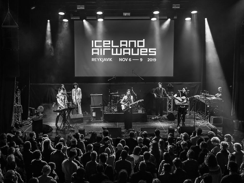 Icelandic singer-songwriter Jófríður Ákadóttir aka JFDR at Iceland Airwaves