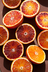 Blood oranges on board