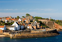 Historic fishing village of Crail in East Neuk of Fife in Scotland