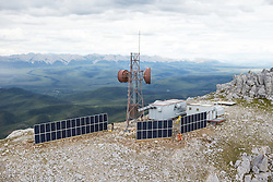 Northwestel Engineer Creek Solar Sit near Engineer Creek, North Yukon