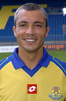 Fotball<br /> Frankrike 2004/05<br /> FC Gueugnon<br /> 27. juli 2004<br /> Foto: Digitalsport<br /> PHILIPPE CORREIA