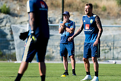 July 4, 2018 - Gelendzhik, Russia - 180704 head coach Janne Andersson of the Swedish national football team at a practice session during the FIFA World Cup on July 4, 2018 in Gelendzhik..Photo: Petter Arvidson / BILDBYRÃ…N / kod PA / 92081 (Credit Image: © Petter Arvidson/Bildbyran via ZUMA Press)