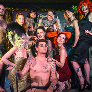 London,England,UK. 22th May 2017. London Burlesque Festival - Tattoo Revue at Moth Club, Hackney,London,UK. by See Li