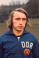 Fotball<br /> Bundesliga Tyskland<br /> Foto: Witters/Digitalsport<br /> NORWAY ONLY<br /> <br /> 1974<br /> Joachim Streich Fussballspieler DDR