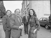 Fianna Fáil's euro-candidates handing in nomination papers, Cavan Town,<br /> 14th May 1984