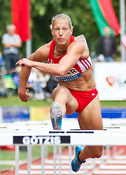 28-05-2011 ATLETIEK: HYPO MEETING 2011: GOTZIS<br /> Jennifer Oeser (GER), Heptathlon - 100m Hurdles Women<br /> ***NETHERLANDS ONLY***<br /> ©2011-FotoHoogendoorn.nl/nph/P.Rinderer