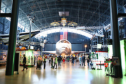 10.01.2016, Steven F. Udvar-Hazy, Chantilly, USA, National Air and Space Museum, im Bild Im Steven F. Udvar-Hazy Center ist auch das Space Shuttle Discovery zu sehen // Exhibits of the American National Air and Space Museum at the Steven F. Udvar-Hazy in Chantilly, United States on 2016/01/10. EXPA Pictures © 2016, PhotoCredit: EXPA/ Eibner-Pressefoto/ Hundt<br /> <br /> *****ATTENTION - OUT of GER*****