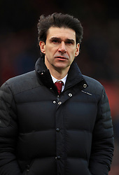 File photo dated 04-03-2017 of Middlesbrough manager Aitor Karanka.