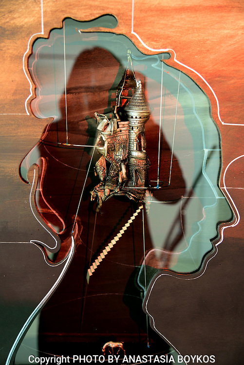 Anastasia's psychogram ΙV<br /> <br /> My magic tower<br /> <br /> Art work by Agelos Antonopoulos.<br /> <br /> 21/12/2013