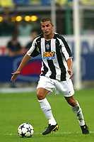 Milano 27/7/2004 Trofeo Tim - Tim tournament <br /> <br /> Manuele Blasi Juventus<br /> <br /> <br /> <br /> Inter Milan Juventus <br /> <br /> Inter - Juventus 1-0<br /> <br /> Milan - Juventus 2-0<br /> <br /> Inter - Milan 5-4 d.cr - penalt.<br /> <br /> <br /> <br /> Photo Andrea Staccioli Graffiti