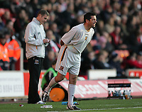 Photo: Lee Earle.<br /> Southampton v Hull City. Coca Cola Championship. 04/11/2006. Hull's new coach Phil Brown (R).