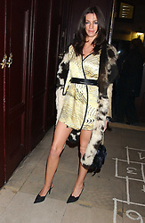 Model MARIE DONOHUE  at a launch party for Kraken Opus's new luxury sports books held at Sketch, 9 Conduit Street, London W1 on 22nd February 2006.<br />