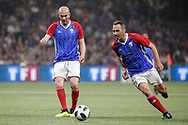 Zinedine Zidane (France 98), Youri Djorkaeff (France 98) during the 2018 Friendly Game football match between France 98 and FIFA 98 on June 12, 2018 at U Arena in Nanterre near Paris, France - Photo Stephane Allaman / ProSportsImages / DPPI