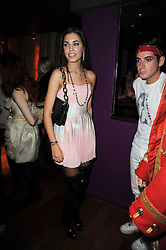 AMBER LE BON at the Tatler Little Black Book Party held at Chinawhite, 4 Winsley Street, London on 20th November 2009.