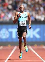 Bahamas' Steven Gardiner during the Men's 400m heat four during day two of the 2017 IAAF World Championships at the London Stadium. PRESS ASSOCIATION Photo. Picture date: Saturday August 5, 2017. See PA story ATHLETICS World. Photo credit should read: Martin Rickett/PA Wire. RESTRICTIONS: Editorial use only. No transmission of sound or moving images and no video simulation.