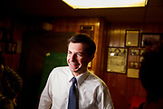 South Bend, Indiana Mayor Pete Buttigieg, who is running as a Democrat for President of the United States, attends the Dyngus Day Solidarity Day Drive Street Renaming at the South Bend Elks Lodge. Dyngus Day is a traditional Polish holiday, but also a time when South Bend candidates traditionally campaigned for office in the city since Indiana's primary election is in early May.