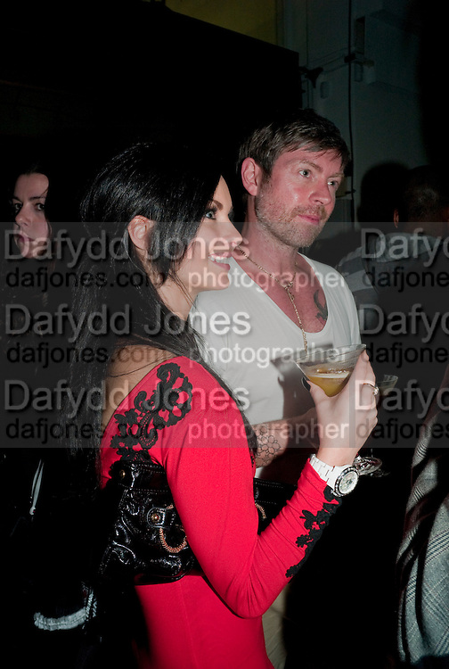 JESSICA JANE CLEMENT; LEE STAFFORD, 30 Years Of i-D - book launch. Q Book 5-8 Lower John Street, London . 4 November 2010. -DO NOT ARCHIVE-© Copyright Photograph by Dafydd Jones. 248 Clapham Rd. London SW9 0PZ. Tel 0207 820 0771. www.dafjones.com.