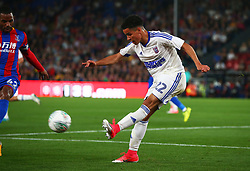 August 22, 2017 - London, England, United Kingdom - Ipswich Town's Tristan Nydam.during Carabao Cup 2nd Round   match between Crystal Palace and Ipswich Town at Selhurst Park Stadium, London,  England on 22 August 2017. (Credit Image: © Kieran Galvin/NurPhoto via ZUMA Press)