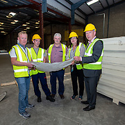 05.06.2018. <br /> Clenn Construction Traineeships. Picture: Alan Place