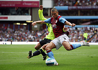 Photo: Rich Eaton.<br /> <br /> Aston Villa v Chelsea. The FA Barclays Premiership. 02/09/2007. Aston Villa's Wilfred Bouma shoots.