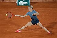 Fiona FERRO (FRA) during the Roland Garros 2020, Grand Slam tennis tournament, on October 5, 2020 at Roland Garros stadium in Paris, France - Photo Stephane Allaman / ProSportsImages / DPPI
