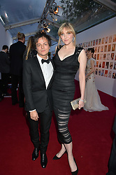 SOPHIE DAHL and JAMIE CULLUM at British Vogue's Centenary Gala Dinner in Kensington Gardens, London on 23rd May 2016.