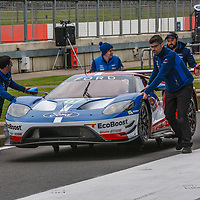 #67, Ford Chip Ganassi Team UK,Ford GT, driven by  Andy Priaulx, Harry Tincknell, Luis Felipe Derani at FIA WEC 6 Hours of Silverstone 2017, Silverstone International Circuit, on 13.04.2017