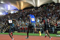 13.09.2011, Sportski Park Mladost, CRO, Athletics Meeting, IAAF World Challenge, Zagreb 2011, im Bild  Usain Bolt, winner, result 9:85 // during Athletics Meeting, IAAF World Challenge, Zagreb 2011 at Sportski Park Mlados in Zagreb Croatia on 13/09/2011. EXPA Pictures © 2011, PhotoCredit: EXPA/ nph/ Pixsell +++++ ATTENTION - OUT OF GERMANY/(GER), CROATIA/(CRO), BELGIAN/(BEL) +++++