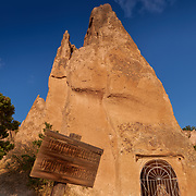 Grapes church of the Red Valley in Cappadocia