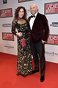 Premiere De Zevende Hemel in Carre, Amsterdam.<br /> <br /> op de foto:  Halina Reijn  en  Ruben van der Meer
