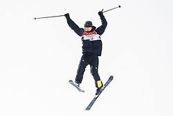 February 18, 2018 - Pyeongchang, SOUTH KOREA - 180218 Oscar Wester of Sweden competes in the Men's Slopestyle Qualification during day nine of the 2018 Winter Olympics on February 18, 2018 in Pyeongchang..Photo: Petter Arvidson / BILDBYRÃ…N / kod PA / 91979 (Credit Image: © Petter Arvidson/Bildbyran via ZUMA Press)