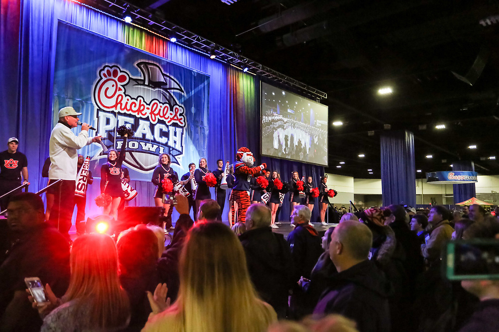 Peach Bowl Fan Fest in Atlanta.  (Photo: Karl L. Moore)