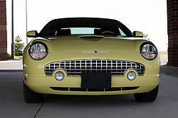 12 May 2007: 2002 yellow Ford Thunderbird