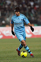 FOOTBALL - FRENCH CHAMPIONSHIP 2009/2010  - L1 - SAINT ETIENNE v OLYMPIQUE MARSEILLE - 19/12/2009 - PHOTO JULIEN CROSNIER / DPPI - HATEM BEN ARFA (OM)