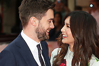 Jack Whitehall, Gemma Chan, The Bad Education Movie - World Film Premiere, Leicester Square, London UK, 20 August 2015, Photo by Richard Goldschmidt