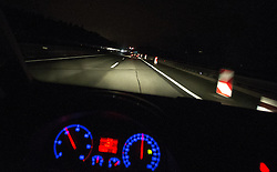 THEMENBILD - Autobahn, aufgenommen am 19.08.2015 auf der A12 Inntalautobahn, Im Bild ein Baustellenabschnitt. EXPA Pictures © 2015, PhotoCredit: EXPA/ Jakob Gruber