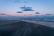 South Point dunes at last light