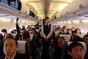 China, Internal flight from Xiaman to Tianjin