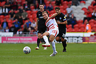 Doncaster Rovers midfileder Herbie Kane (15) during the EFL Sky Bet League 1 match between Doncaster Rovers and Portsmouth at the Keepmoat Stadium, Doncaster, England on 25 August 2018.Photo by Ian Lyall.
