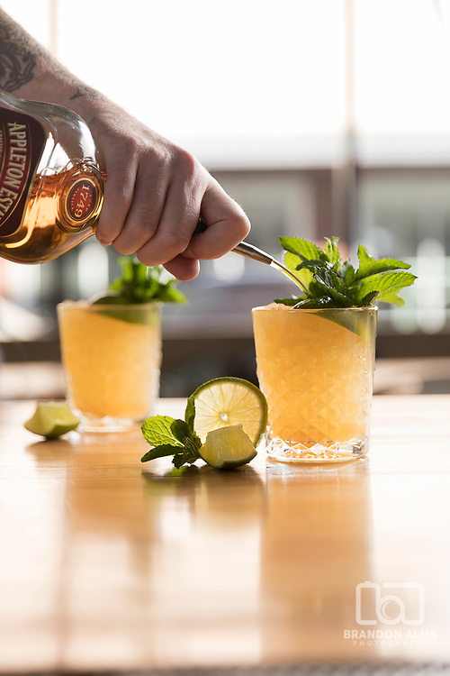 Mai Tai's from Golden Girl Rum Club located in Springfield, Mo.