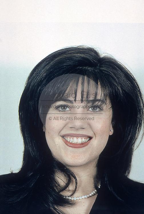 White House intern Monica Lewinsky in her undated passport photo in Washington, DC.