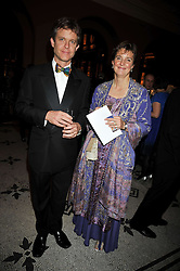 GEORGE & KATHARINE WESTON at a dinner to celebrate the opening of 'Maharaja - The Spendour of India's Royal Courts' an exhbition at the V&A, London on 6th October 2009.