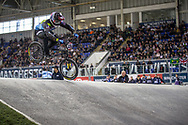 #436 (MIR Amidou) FRA at Round 2 of the 2019 UCI BMX Supercross World Cup in Manchester, Great Britain