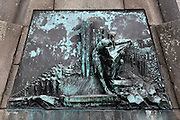 Iceland, Reykjavik, Skuli Magnusson memorial plaque