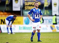 Fotball , 27. april 2013 , Tippeligaen , Elitesereien<br /> Lillestrøm - Start 3-2<br /> Erik Mjelde , LSK<br /> En oppgitt Mattias Vilhjalmsson , Start