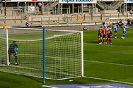 Bristol Rovers midfielder Zain Westbrooke (8) prepares to take a free kick during the EFL Sky Bet League 1 match between Bristol Rovers and Ipswich Town at the Memorial Stadium, Bristol, England on 19 September 2020.
