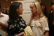 Mary McCArtney and Camilla Morton. PETA's Humanitarian Awards, Stella McCartney, Bruton Street, London, W1. 28 June 2006. ONE TIME USE ONLY - DO NOT ARCHIVE  © Copyright Photograph by Dafydd Jones 66 Stockwell Park Rd. London SW9 0DA Tel 020 7733 0108 www.dafjones.com
